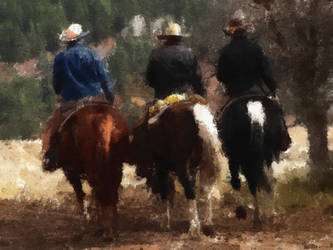 Cowboys by KirkDunne