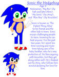 Orphan in the Snow Sonic bio