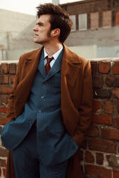 Tenth Doctor Cosplay - Reflecting on things lost.. by JCaitoCosplay