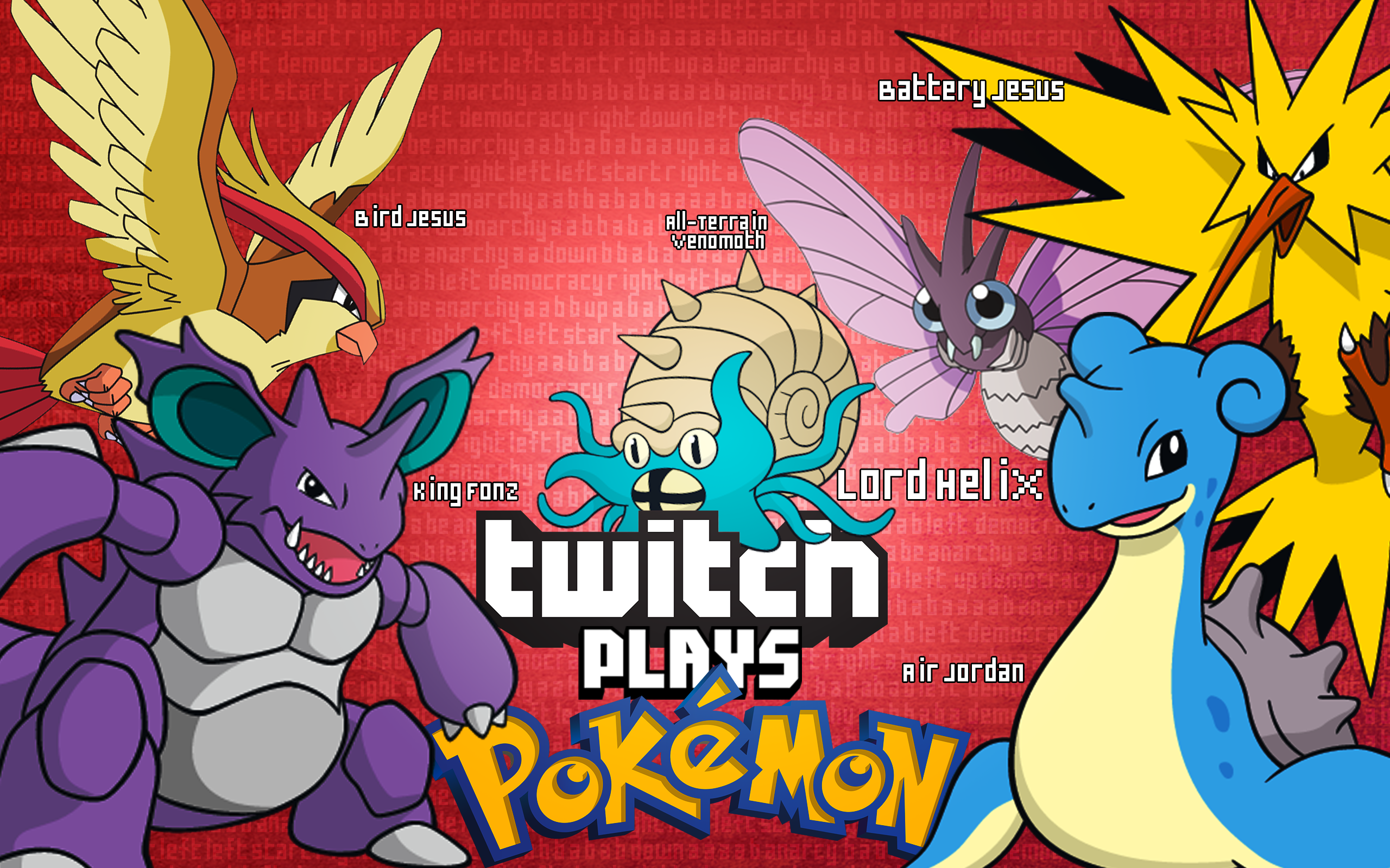 TWITCH PLAYS POKEMON - Altogether! by Enttei