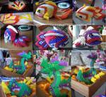 Koi Fish + Dragon Boat Angles