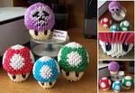 Mushroom Kingdom - 3D Origami