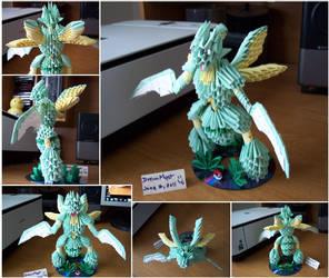 Scyther - 3D Origami by o0DreamMyst0o