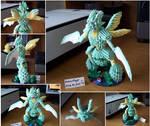 Scyther - 3D Origami