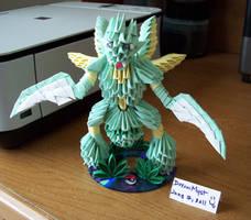 Scyther Angle - 3D Origami