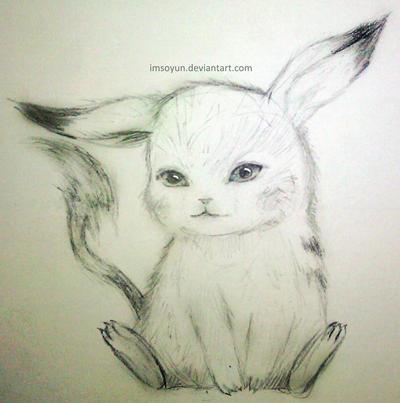 Baby Pikachu By Imsoyun ...
