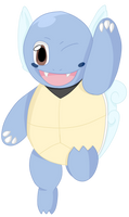 008- Wartortle by MacabreHouse