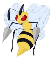 015- Beedrill by MacabreHouse
