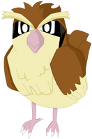 016- Pidgey by MacabreHouse