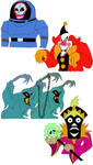 Scooby-Doo Villains 1 by MacabreHouse