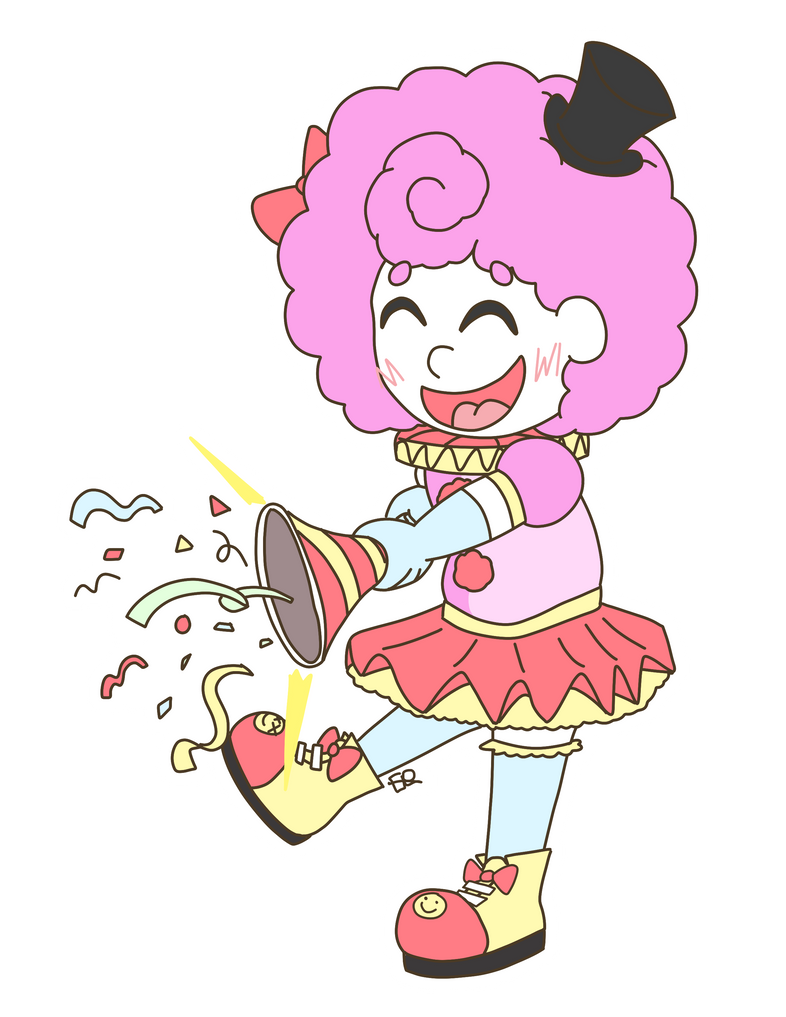 Cutsie Clown - Art Fight Attack