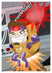 The Mechanical Menace, MODOK! by MacabreHouse