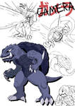 Gamera Redesign by MacabreHouse