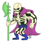 Masters of The Universe: Scareglow! by MacabreHouse