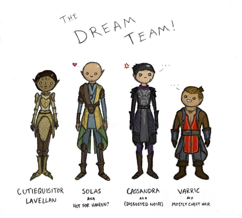 DAI - dream team by khimerra