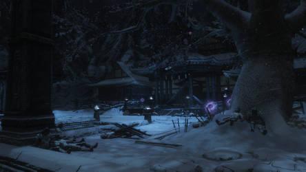 Frozen Temple by Jowain92