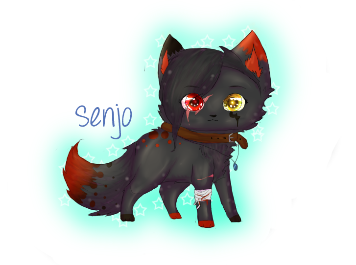 Chibi Senjo :AT: TheSillyCat by Mindim-chan