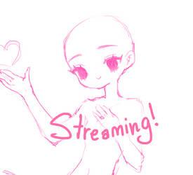 Twitch Stream: ONLINE by fawnbun
