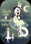 CLOSED: 5000+ Watchers Raffle + Speedpaint! by fawnbun