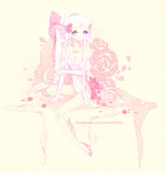. Rose Milk . by fawnbun