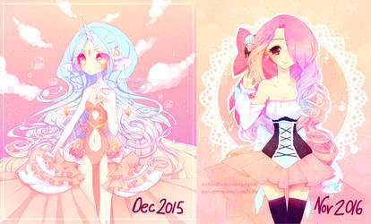 2015 VS 2016 by fawnbun