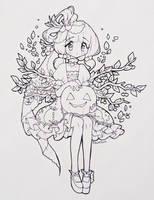 Day 2 : Pumpkin by fawnbun