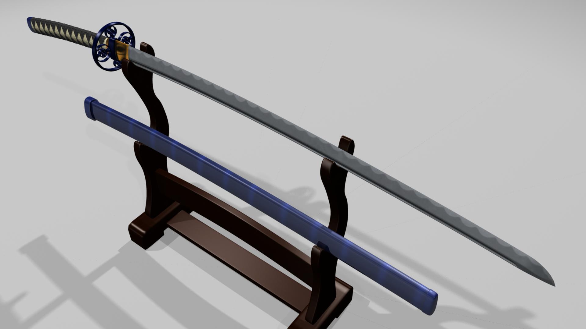 Как сделать меч гэндзи из дерева