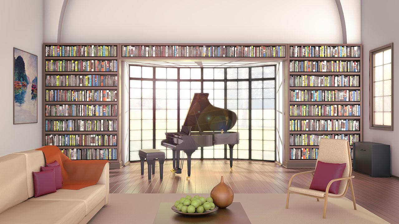 Library Piano Room Renton