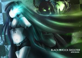 Black Rock Shooter - Darkness by Daiyaku