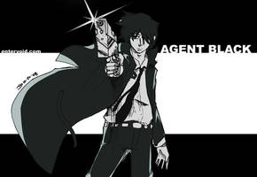 Agent Black by wansworld by entervoid