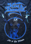 King Diamond - Live at The Fillmore Tshirt by zeusallica