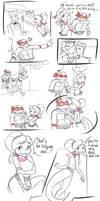Raphael Meets his Match - Short Comic