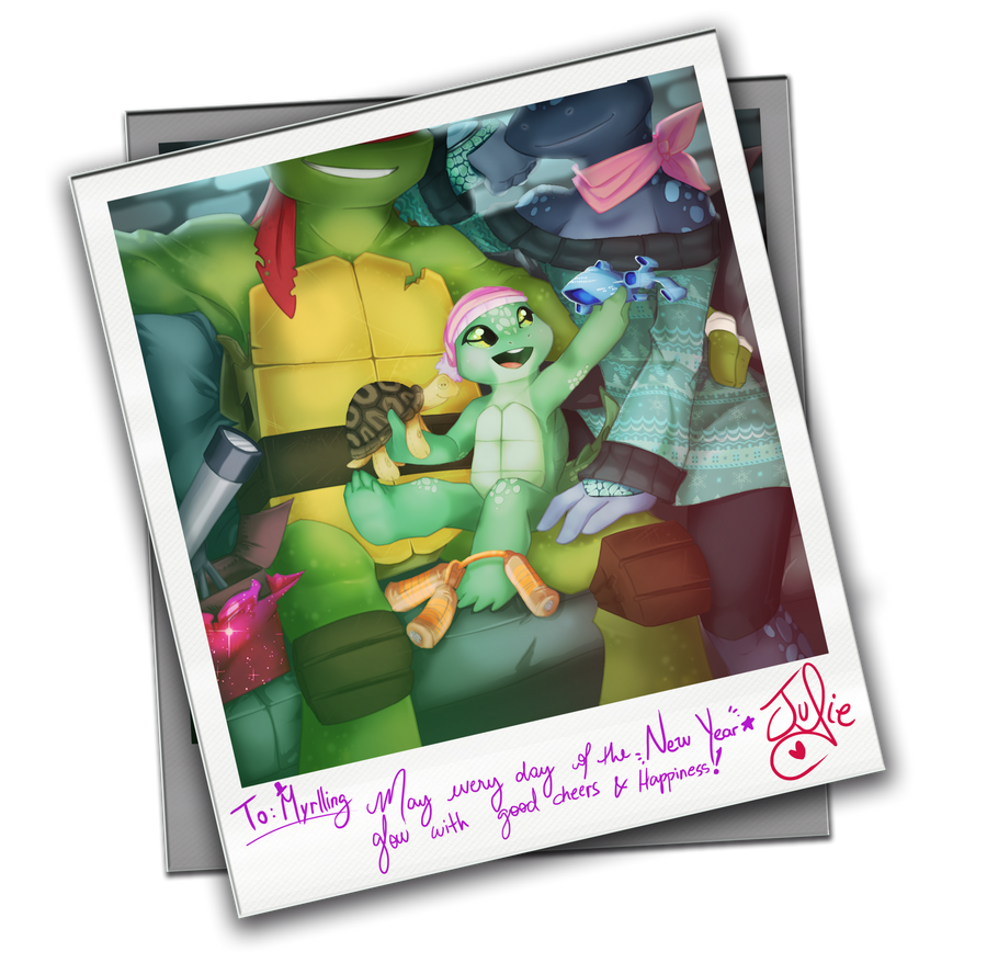 TMNTSS 2015 - A Family Moment by juliefofisss