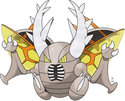 Mega Pinsir - The Predator by TheWhiteScatterbug