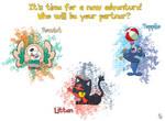 Pokemon Sun and Moon - The Alola Region Starters