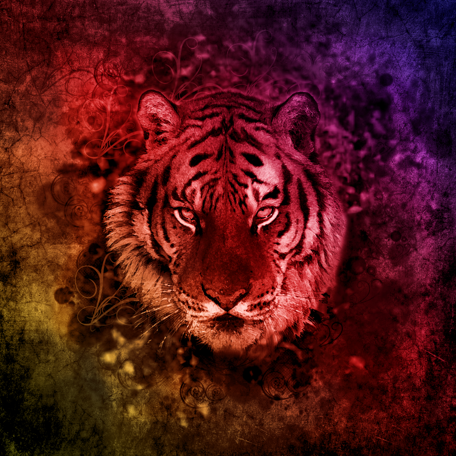 Tigerabstract1 by mrxtasy