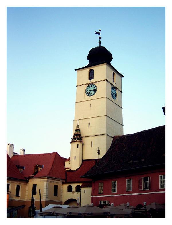 Turnul Sfatului,Sibiu by whisper-my-name17