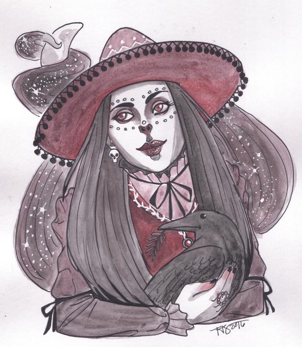 La Bruja y amigo by MyDearAloysius