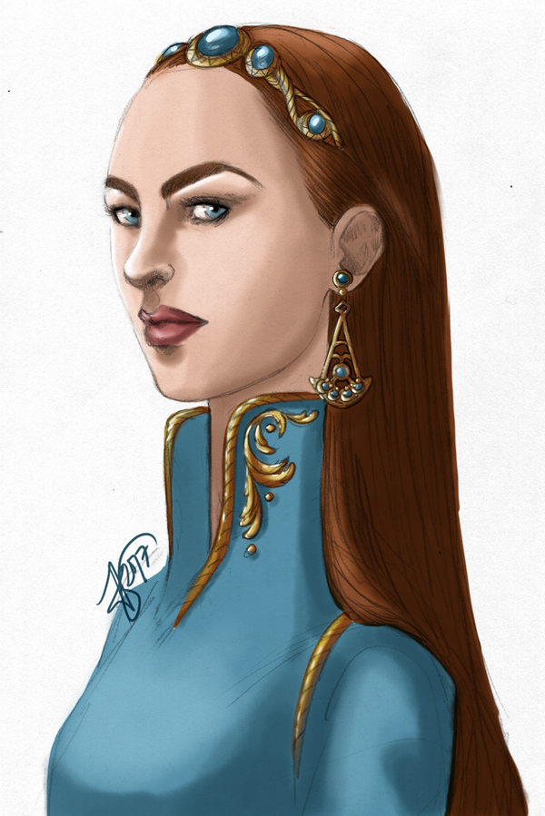 The Blue Queen by MyDearAloysius