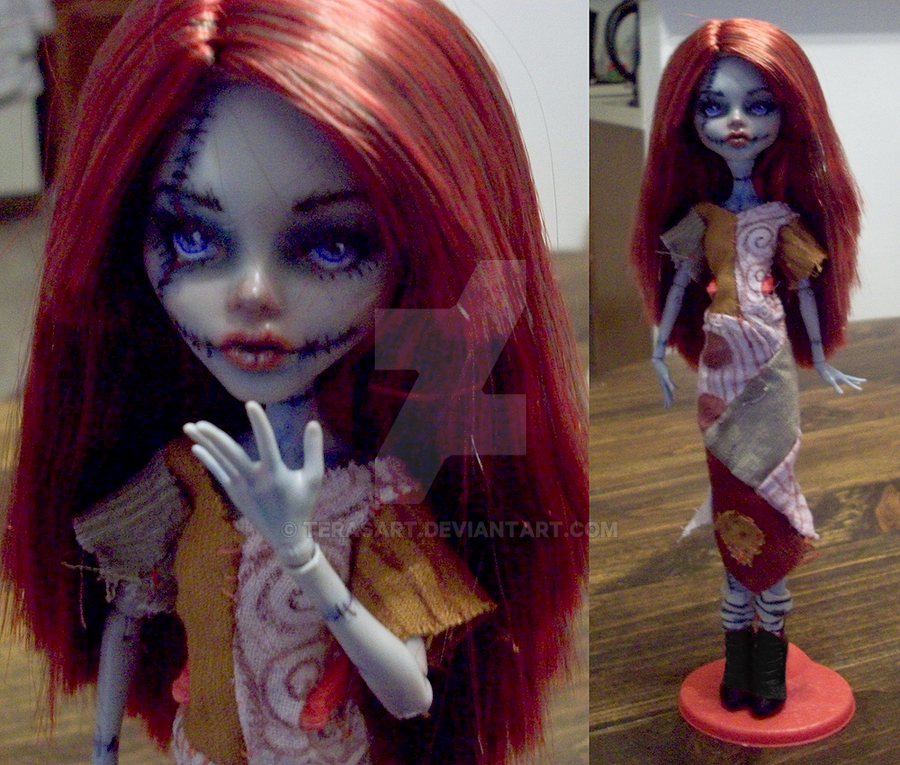 Monster High Doll Mod - Sally by tbdoll