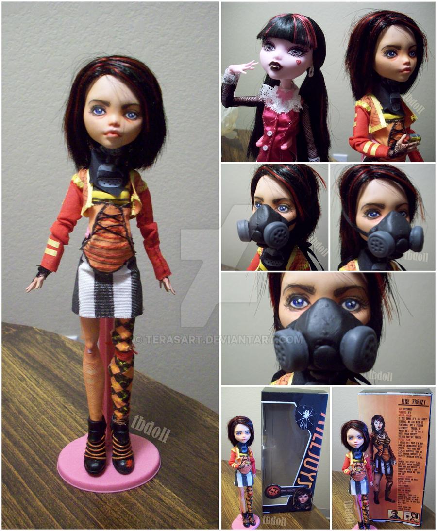 Monster High Doll Mod - Fire Frenzy by tbdoll