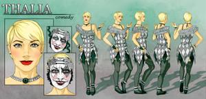 Thalia - Character Reference Sheet