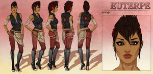 Euterpe - Character Reference Sheet