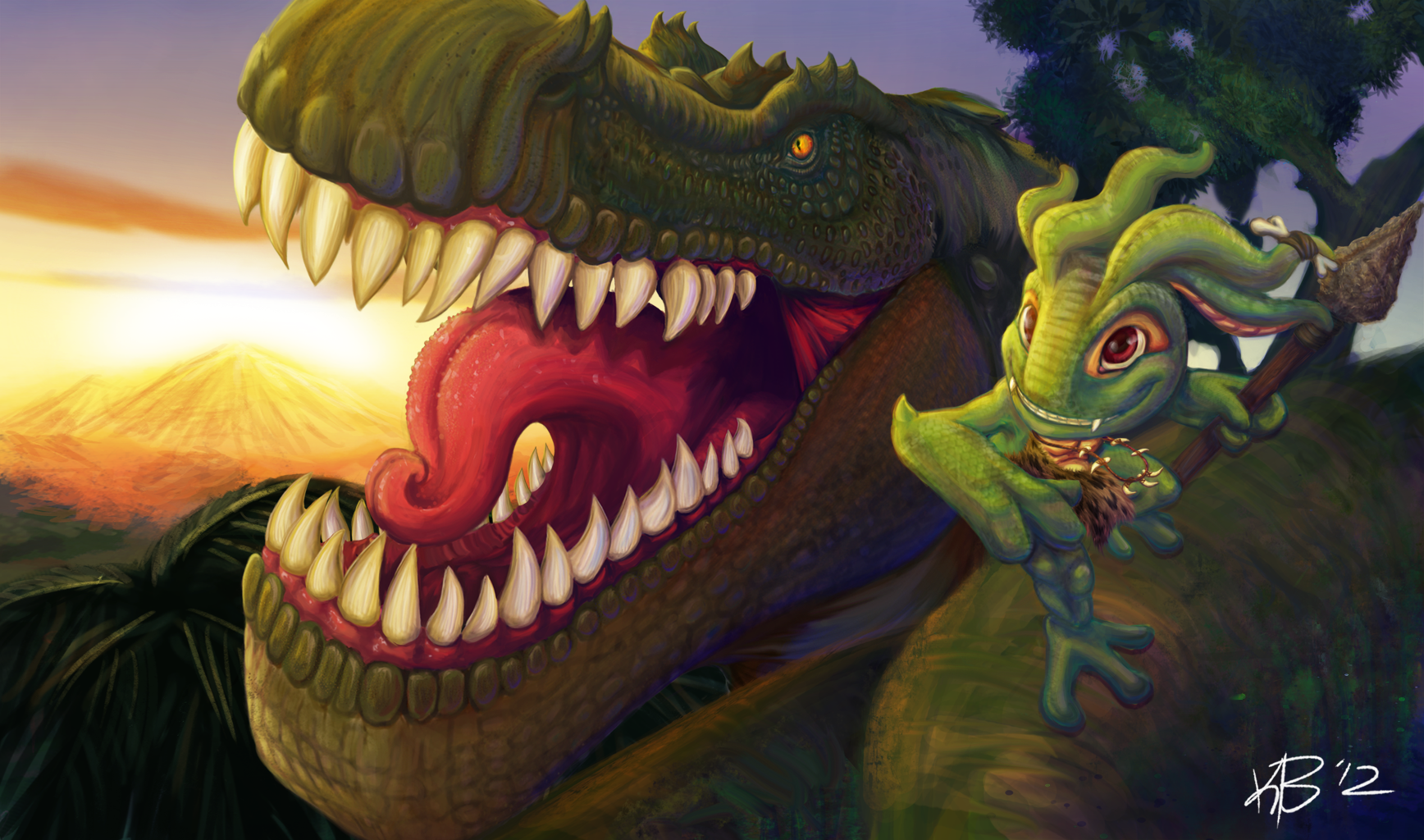Prehistoric Fizz - League of Legends Skin Idea by BonzoK