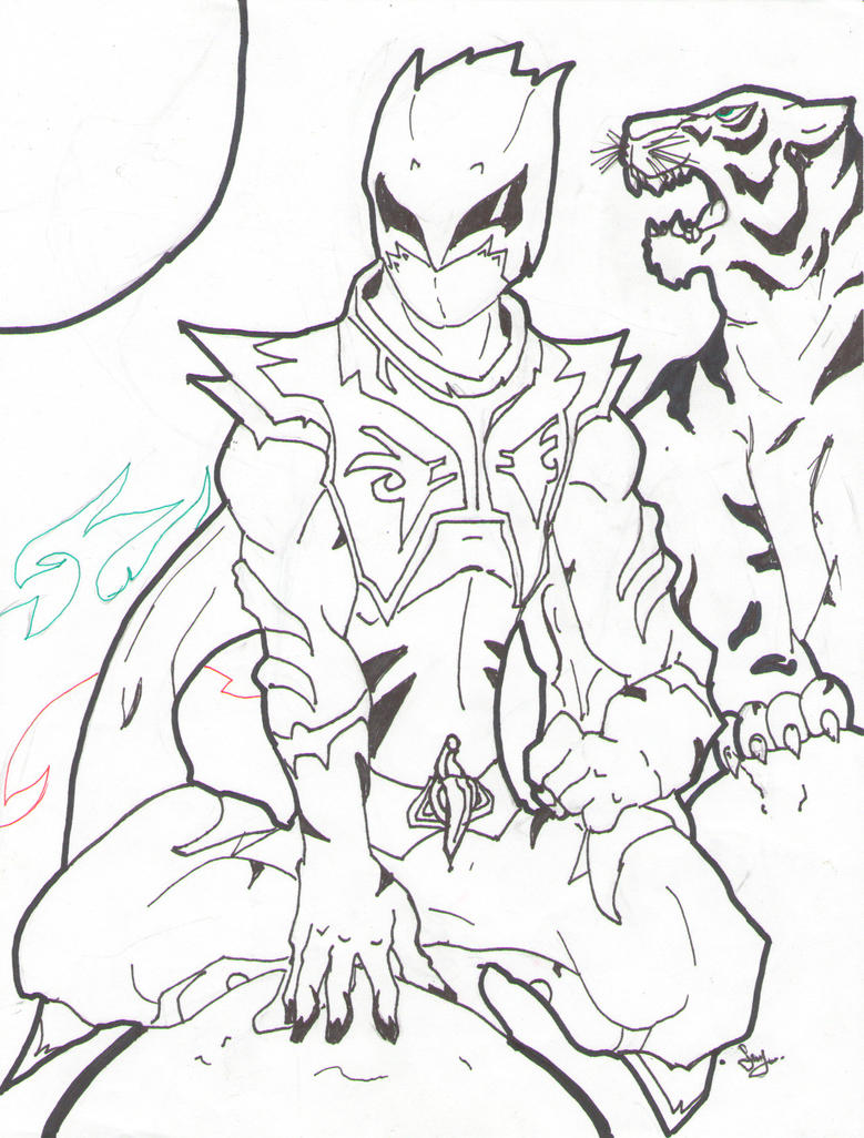 pink ranger coloring page coloring pages