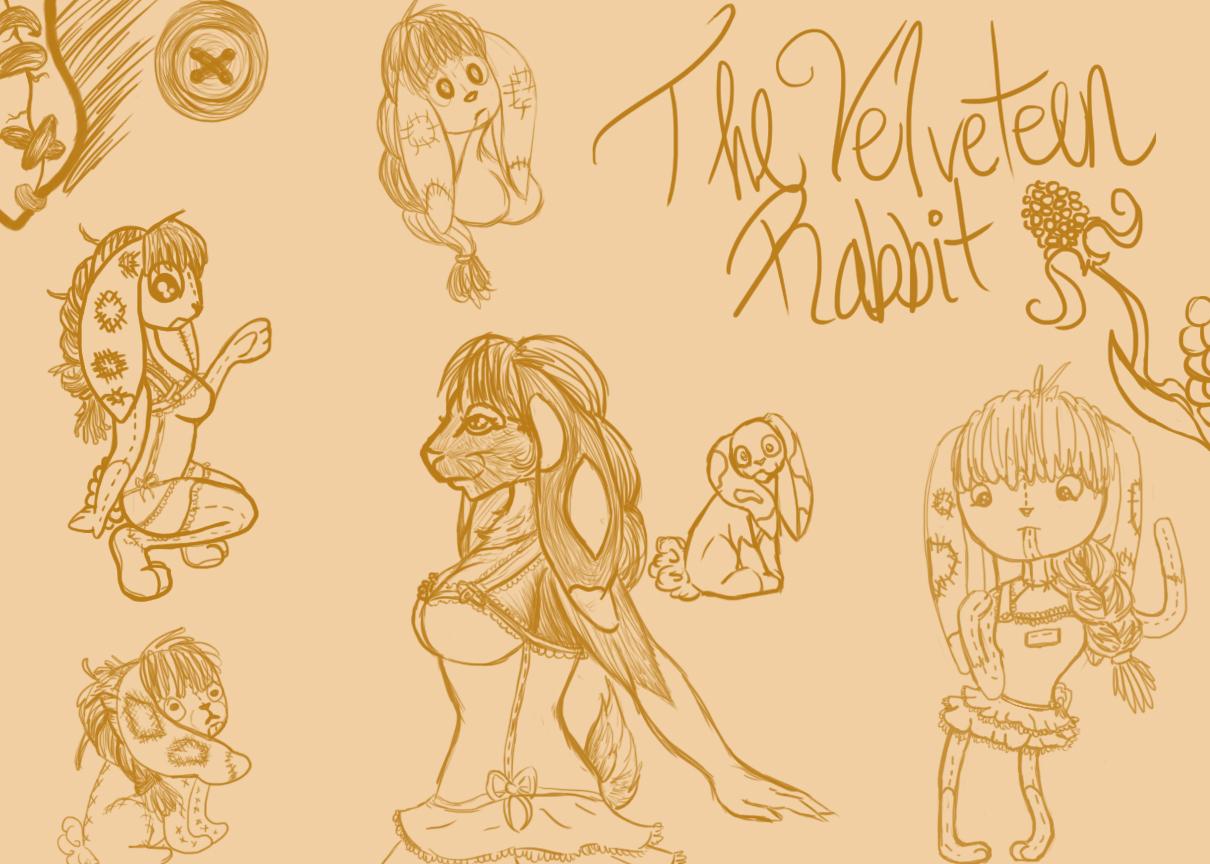 Velveteen Rabbit Sketch by marissippi