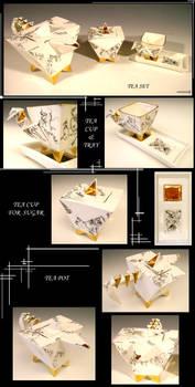 Porcelain Teapot Set II