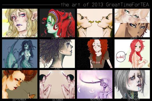 the art of 2013 GreatTimeForTEA