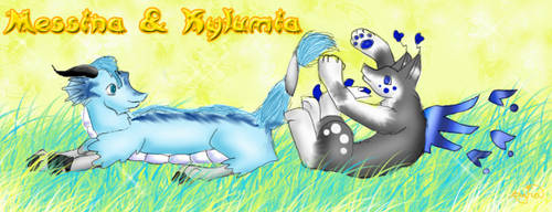 Messina and Kylumia by auroraed