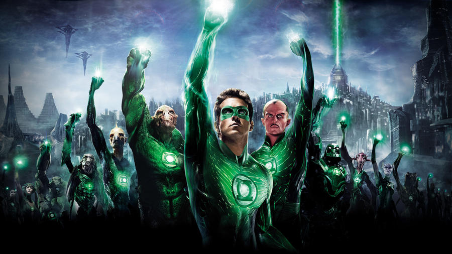 Green Lantern Wallpaper by mininudoidu